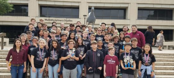 Flour Bluff JH Math and Science Team state champions